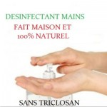 Gel désinfectant mains efficace 100% NATUREL