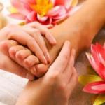 Massage des pieds fatigue physique & mentale