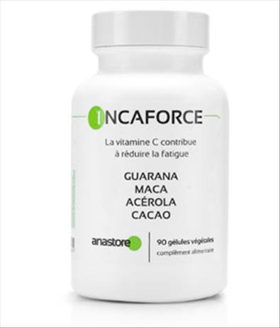 Guarana, Maca, Acérola, Cacao