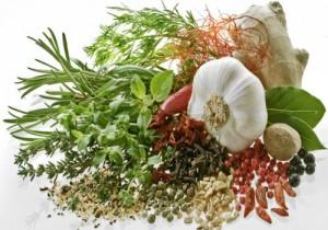 Se servir d'herbes aromatiques & épices !