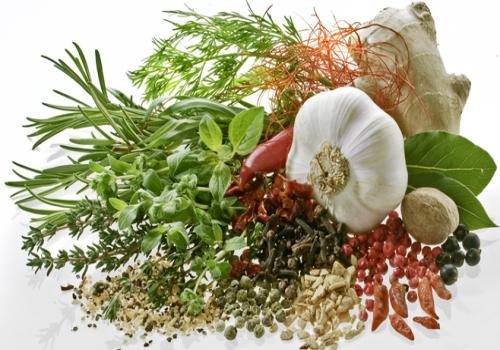 Se servir d'herbes aromatiques & épices