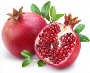 La grenade fruit de saison