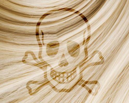 Couleurs et permanentes attention danger