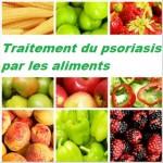 Traitement du psoriasis par les aliments