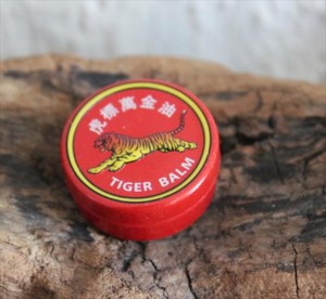 Baume du tigre rouge contre myalgie