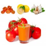 Smoothie tomate contre le mal de gorge