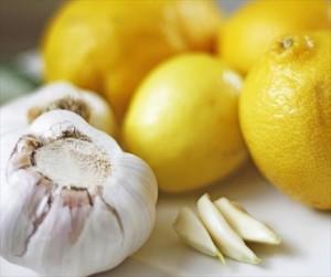 Ail et citron