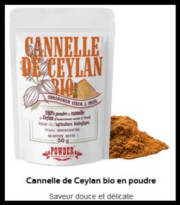 Cannelle de Ceylan en poudre