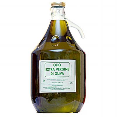 Huile d'olive étiquette