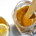 Jus curcuma et rondelle de citron