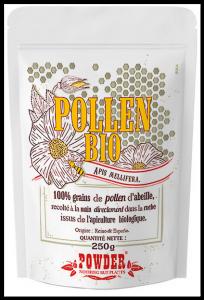 Pollen d'abeille biologique