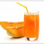Jus de melon contre la rétention d'eau