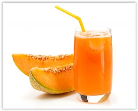 Jus de melon contre la rétention d'eau   Bienfaits
