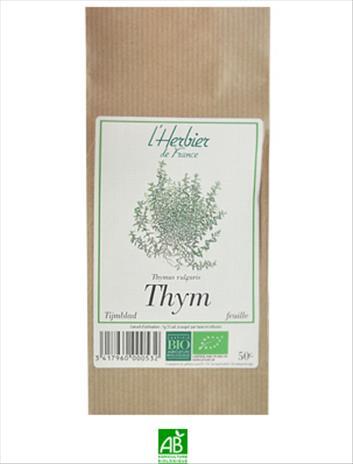 Herbier De France Thym Feuilles