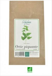 Herbier De France Ortie piquante Feuilles