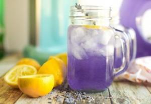 Limonade de lavande minceur