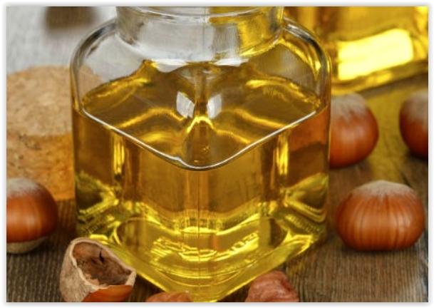 huile de noisette pour le visage