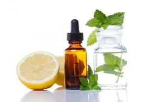 Huile essentielle de citron en diffusion