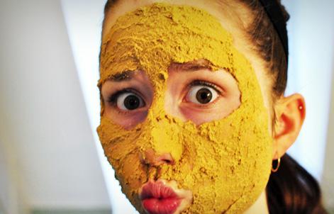 Masque curcuma