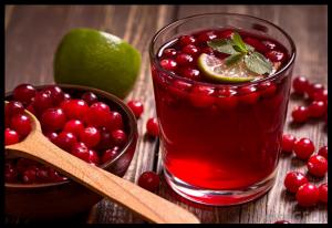 Jus de Cranberry propriétés