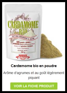 Acheter Cardamome Verte Bio en poudre