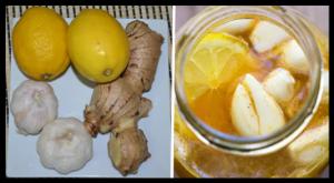 Ail, Citron, Gingembre