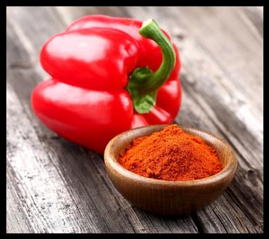 Paprika, poudre de poivrons