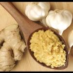 Préparer pâte de gingembre & d'ail