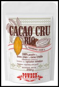 Cacao Cru Bio en poudre