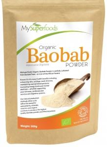 Baobab organique en poudre (500g) | La plus haute qualité