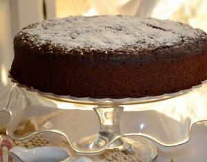 Gâteau facile au chocolat en poudre