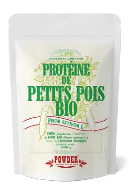 Protéine de petits pois en poudre