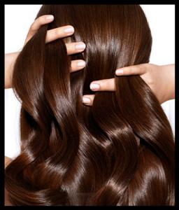 Pour les cheveux et la peau du visage