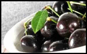 Cerises et jus de cerises noires contre la goutte