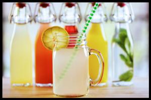 Préparer du kéfir d'eau, de fruits