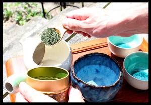 Préparer le thé sencha