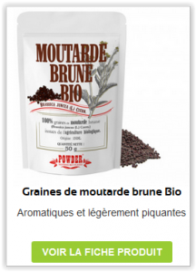 Graines de Moutarde Brune