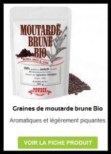 Graines de Moutarde Brune