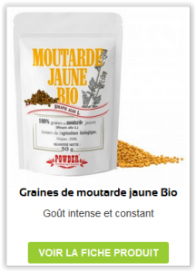 Graines de Moutarde jaune