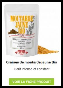 Graines de Moutarde jaune