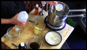 Crème hydratante anti âge naturelle maison