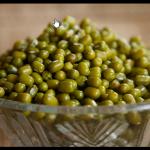 Haricot mungo (graine de soja vert bio)