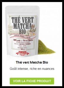 Thé vert matcha biologique