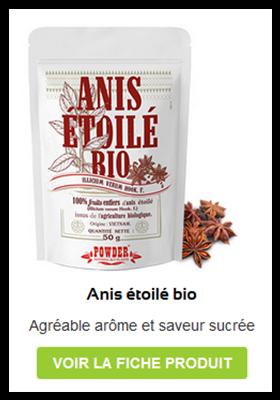 Anis étoilé bio Anastore