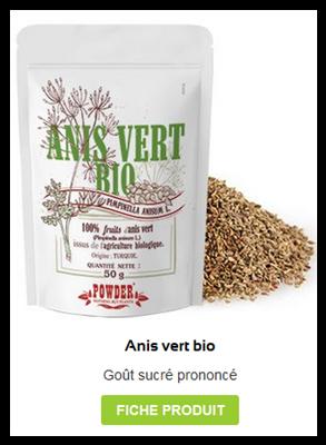 Anis vert bio en graines
