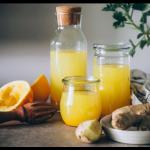 Kéfir d'Eau Curcuma/Gingembre : la recette