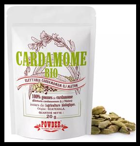 Gousses de Cardamome Bio