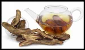 Préparer thé de racine de Bardane