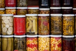Conserves de légumes lacto-fermentés