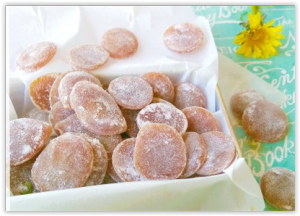 Bonbons de fleurs de pissenlit